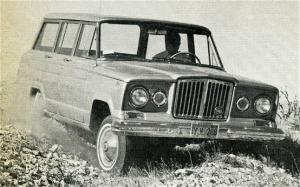 Willys Jeep Wagoneer First Test - Motor Trend