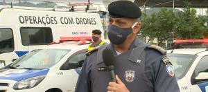 Dezenas de viaturas da Polícia Militar saíram da Praça do Papa no início da manhã desta sexta-feira em direção a esses bairros