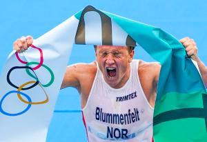 Over 150.000 seere satt våkne for å se Norges første OL-gull på ni år