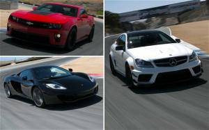 McLaren MP4-12C, Mercedes-Benz C63 AMG Black Series, Chevy Camaro ZL1: 2012 Best Driver's Car Contenders - Motor Trend