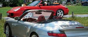 2004 Porsche 911 Carrera 4S & 911 Turbo Cabriolets - Chassis, Engine, Price & Performance - First Drive & Road Test Review - Motor Trend