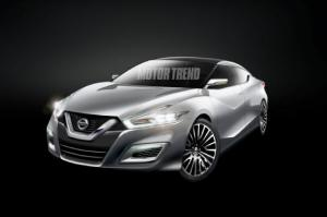 Nissan Maxima Redesign: Flowing Curves, GT-R-Like Roofline - Motor Trend