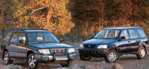 Subaru Forester Vs. Honda CR-V - Powertrain - Comparison - Motor Trend