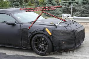 2015 Ford Shelby Mustang GT350 Prototype Spied