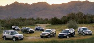 2005 SUV of the Year Testing - Motor Trend
