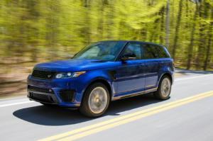2015 Land Rover Range Rover Sport SVR - First Drive Review - Motor Trend