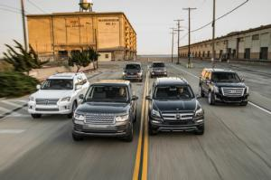 The Big Test: Large Luxury SUVs - Motor Trend