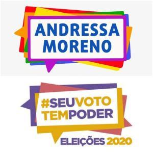 Andressa Moreno, que vai disputar uma vaga na Câmara, terá que apagar as imagens das suas redes sociais; ela diz que acatará a decisão da Justiça