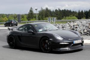 Porsche Cayman GT4 Spied at the Nurburgring