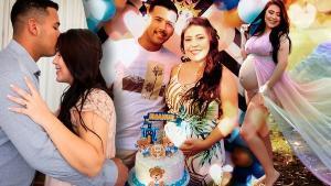 Amanda Guedes diz que o filho é um bebê arco-íris, pois voltou a trazer cor à vida da família depois de tanto sofrimento com a perda da filha Alice, de 3 anos, no mês de fevereiro, em Vila Velha