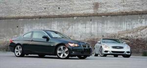 2008 Infiniti G37 vs 2007 BMW 335i - Head to Head - Motor Trend