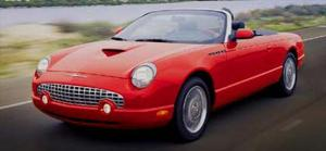 2002 Ford Thunderbird - First Drive & Road Test Review - Motor Trend