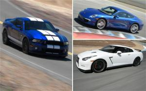 Nissan GT-R, Porsche 911, Ford Shelby GT500 - 2012 Best Driver's Car Contenders - Motor Trend