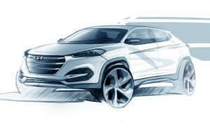 Hyundai Tucson Teaser Released Ahead of Geneva Debut