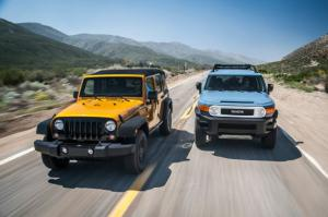 TOTD: Jeep Wrangler Unlimited or Toyota FJ Cruiser?