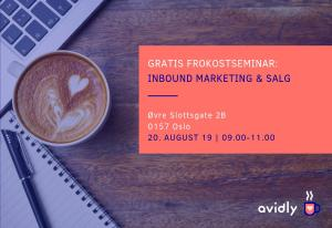 Frokostseminar om Inbound Marketing og Salg