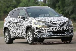 Spied! 2015 Lincoln MKC Prototype Looks Close to Stunning Concept