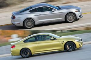 TOTD: You Pick - 2015 Ford Mustang GT or 2015 BMW M4 - Motor Trend WOT