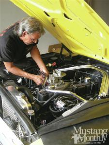 how to install a new wiring harness for your ford mustang wiring harness for your ford mustang · six cylinder tuning performance photo image gallery