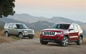2011 Jeep Grand Cherokee Overland vs. 2010 Land Rover LR4 HSE - Specs and Test Data - Motor Trend