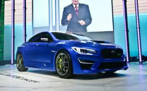 Subaru WRX Concept First Look - 2013 New York Auto Show - Motor Trend