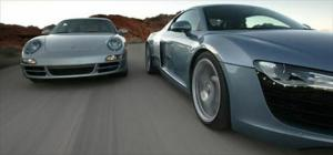 2008 Audi R8 vs 2006 Porsche 911 Carrera 4 - Head to Head Road Test & Review - Motor Trend