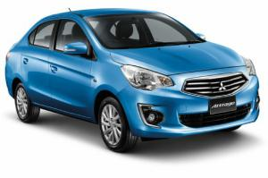 Mitsubishi Mirage Sedan Revealed, Called Attrage in Thailand