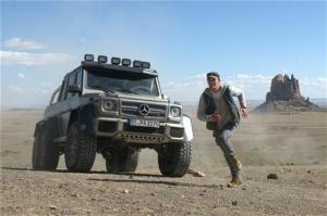 Mercedes-Benz G63 AMG 6x6 to Make Film Debut in