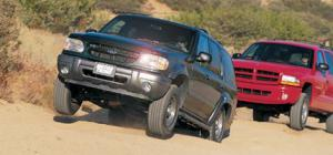 Off-Road Torture Test: Do You Really Need Four-Wheel Drive? - American SUV - Motor Trend Magazine