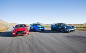 2011 Chevrolet Corvette Z06 vs. 2011 Ford Shelby GT500 vs. 2012 Nissan GT-R - Comparison - Motor Trend