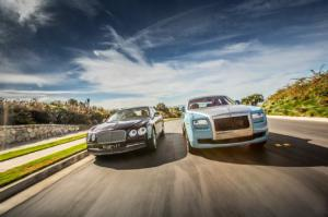 2014 Rolls-Royce Ghost vs. 2014 Bentley Flying Spur Specs - Motor Trend