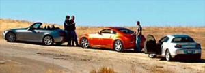 Engine Performance - Compact Sport Coupe Comparison - Honda S2000, Mazda RX-8 & Nissan 350Z - Motor Trend