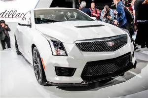 2016 Cadillac ATS-V First Look - Motor Trend