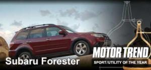 2009 Subaru Forester - 2009 Motor Trend Sport/Utility Of The Year - Motor Trend