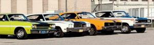 1970 Classic Muscle Cars Comparison - Motor Trend Classic