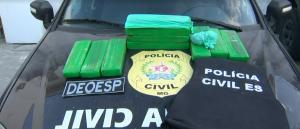 O homem de 42 anos, que foi preso no bairro Jardim Colorado, em Vila Velha, estava em território capixaba desde janeiro e, no Estado, já havia se envolvido com o tráfico de drogas. Com ele, a polícia encontrou 11 tabletes de maconha