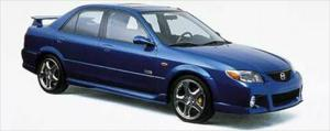 2001 Mazda Protege MP3 - First Look - Motor Trend