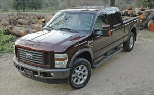 2009 ford f 250 super duty tow test motor trend. Black Bedroom Furniture Sets. Home Design Ideas