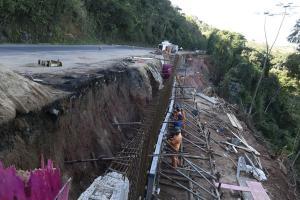 Intervenções são realizadas em sete trechos da rodovia federal que ficam nos municípios de Viana, Domingos Martins e Marechal Floriano
