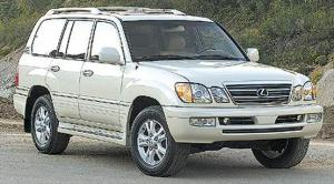2003 Lexus LX 470 - First Drive & Road Test Review - Truck Trend