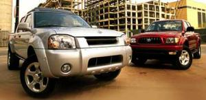 Motor Trend: Road Test: Nissan Frontier vs. Toyota Tacoma
