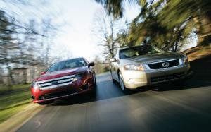 2010 Ford Fusion SEL vs 2009 Honda Accord EX Performance - Motor Trend