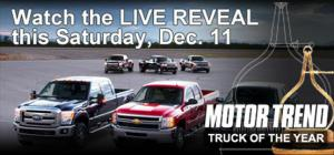 2011 Motor Trend Truck of the Year Live Reveal Event - Motor Trend