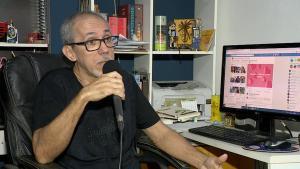 Jorge Fabelo é do distrito de São José das Torres, em Mimoso do Sul, no Sul do Estado, e homenageou amigos e ex-alunos com poesias nas redes sociais