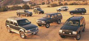 1995 Land Rover Discovery - Jeep Grand Cherokee - Motor Trend