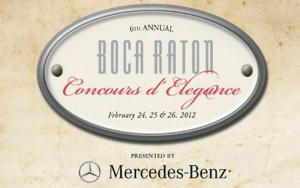 Sixth Annual Boca Raton Concours d' Elegance - Motor Trend Classic