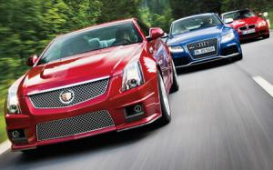 2013 Audi RS 5 vs. 2011 BMW M3 vs. 2011 Cadillac CTS-V Comparison - Motor Trend
