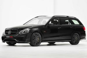 Whoa: Brabus-Tuned Mercedes-Benz E63 AMG Wagon Makes 850 HP - Motor Trend WOT