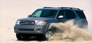 2001 Toyota Sequoia Engine, Price & Performance - Road Test Review - Truck Trend