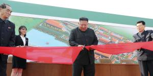 Kim Jong Un Is Said to Have Attended Factory Opening